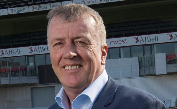 AJ Bell chief executive Andy Bell