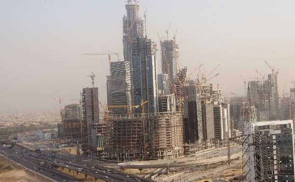 Saudi Arabia says plans for financial district are 'still on'