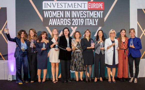Winners of the Women In Investment Awards 2019 at last year's ceremony