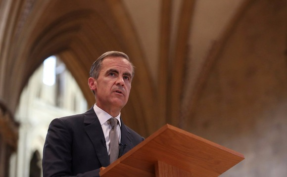 Outgoing governor of the Bank of England, Mark Carney