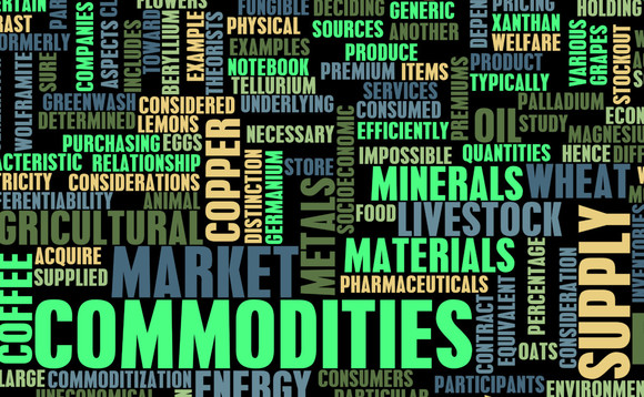 Commodities captured