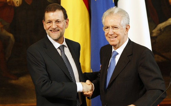 Market disappontment as Spain and Italy call for fiscal integration
