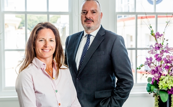 Louise Bracken-Smith, CEO of Fairway Group and Stuart Platt-Ransom, CEO of Oak Group.