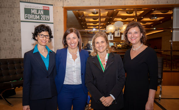 From left to right: Sara Silano, Grazia Orlandini, Manuela D'Onofrio, and Patrizia Bussoli