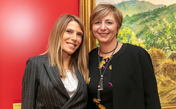 Paule Ansoleaga (left) and Simonetta Cristofari, co-founders of MWE