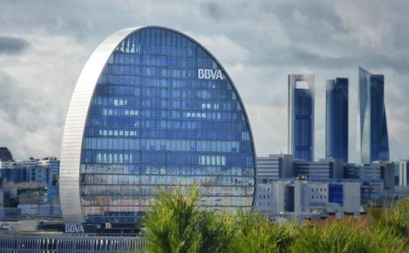 BBVA headquarters in Madrid